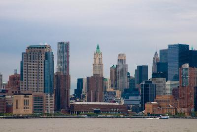 Manhattan Cityscape II-Erin Berzel-Photographic Print