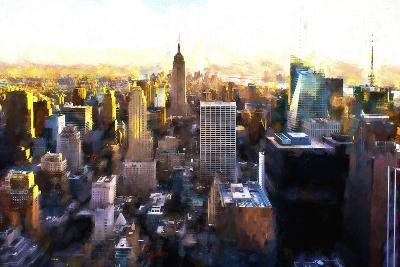 Manhattan Cityscape III-Philippe Hugonnard-Giclee Print