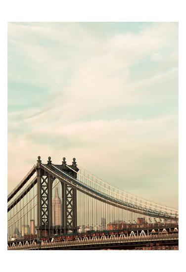 Manhattan Color-Tracey Telik-Art Print