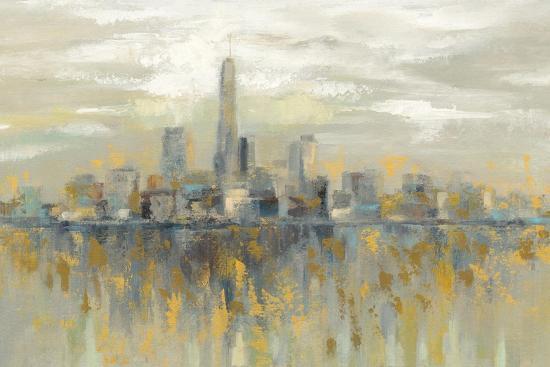 Manhattan Fog Art Print by Silvia Vassileva | Art com