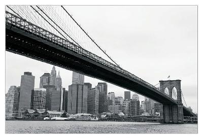 Manhattan from Brooklyn-Erin Clark-Art Print