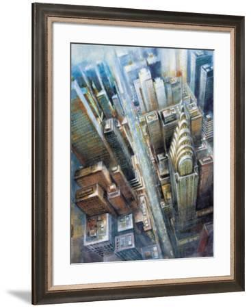Manhattan from the Clouds I-G.p. Mepas-Framed Art Print