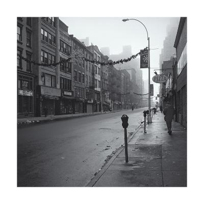 Manhattan Greenwhich Village Street Morning-Henri Silberman-Photographic Print