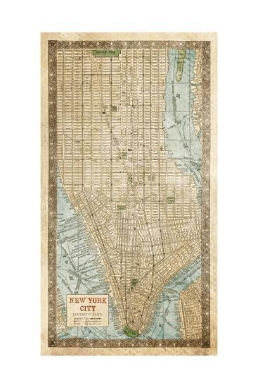 Manhattan III-Pied Piper-Art Print