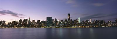Manhattan Island Viewed from Long Island City at Dusk-Design Pics Inc-Photographic Print