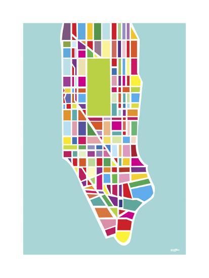 Manhattan Island-Yoni Alter-Giclee Print
