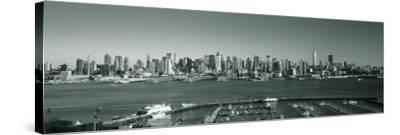 Manhattan, New York City, NY, USA-Walter Bibikow-Stretched Canvas Print