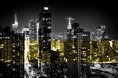 Manhattan Night-Philippe Hugonnard-Photographic Print