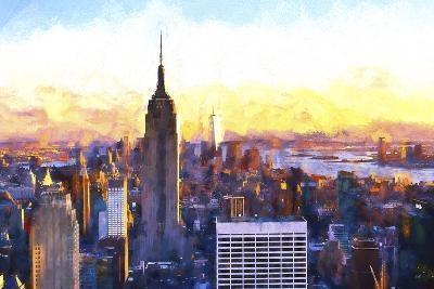 Manhattan Nightfall-Philippe Hugonnard-Giclee Print