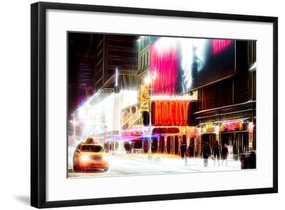 Manhattan Shine - Broadway Theater-Philippe Hugonnard-Framed Photographic Print