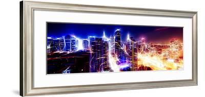 Manhattan Shine - Electric Radius-Philippe Hugonnard-Framed Photographic Print