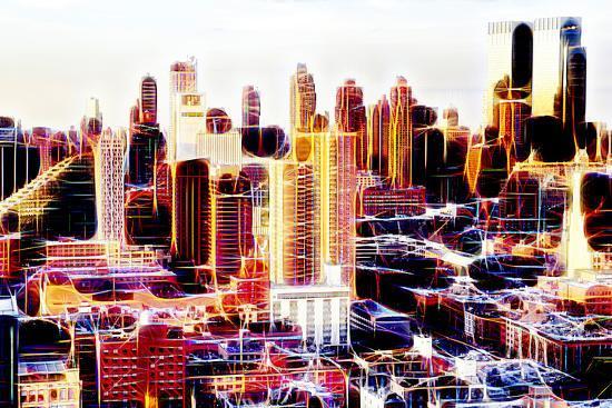 Manhattan Shine - Midtown Sunset II-Philippe Hugonnard-Photographic Print