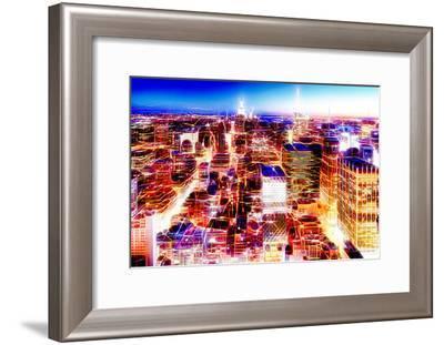 Manhattan Shine - New York Vision II-Philippe Hugonnard-Framed Photographic Print