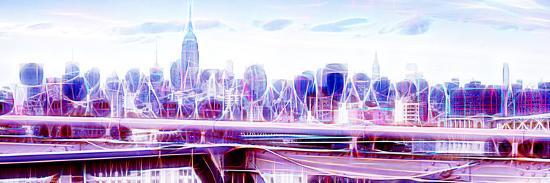 Manhattan Shine - Overview-Philippe Hugonnard-Photographic Print