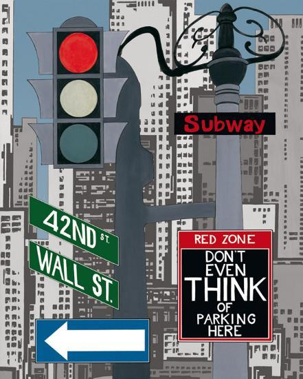 Manhattan Signes I-P. Clement-Art Print