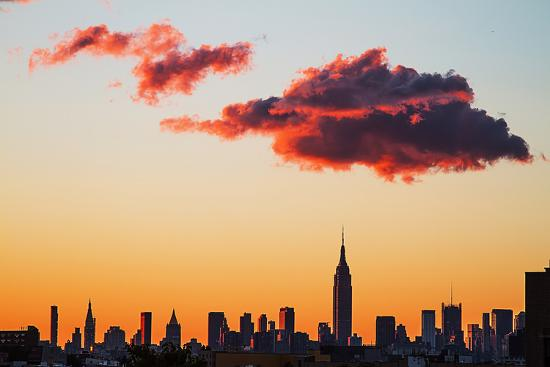 Manhattan Skyline, 2012--Photographic Print