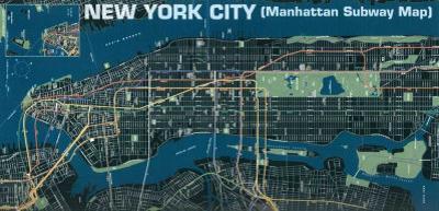 Manhattan Subway Map
