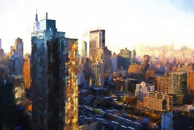 Manhattan Sunrise-Philippe Hugonnard-Giclee Print