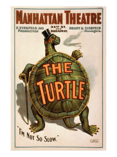 "Manhattan Theatre Production ""The Turtle""--Art Print"