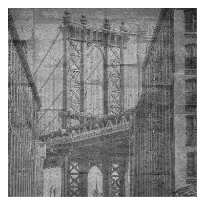 Manhattan Wall-Sheldon Lewis-Art Print
