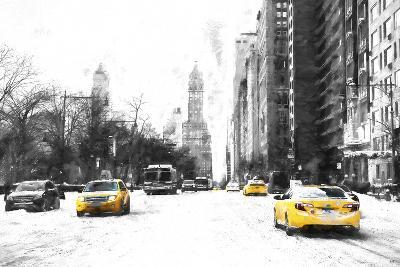 Manhattan Winter Day-Philippe Hugonnard-Giclee Print