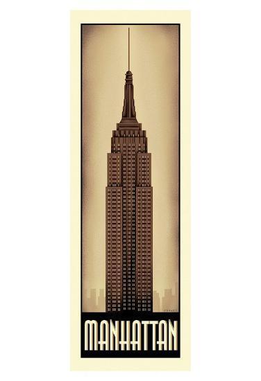 Manhattan-Steve Forney-Art Print