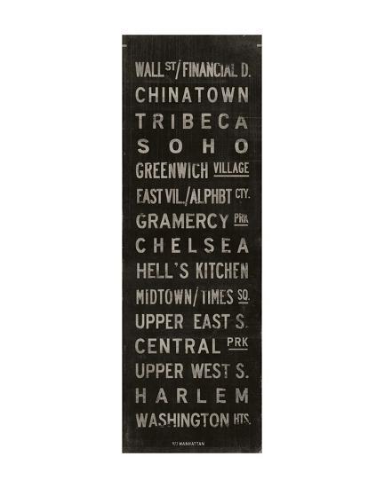 Manhattan-Luke Stockdale-Art Print