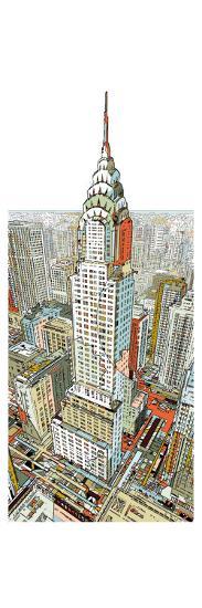 Manhattan-HR-FM-Art Print