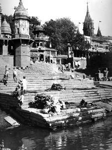 Manikarnika Ghat, Varanasi, India, C.1907-8