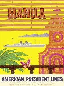 Manila, Philippines - American President Lines
