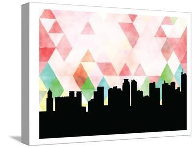Manila Triangle-Paperfinch 0-Stretched Canvas Print