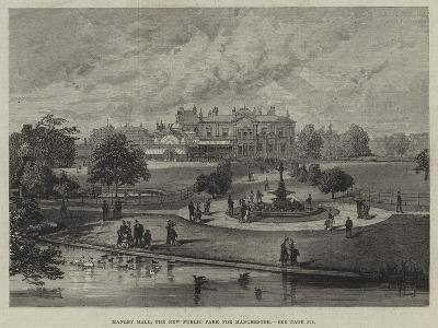 Manley Hall, the New Public Park for Manchester--Giclee Print