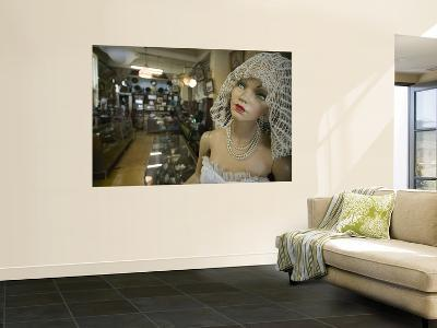 Mannequin and Merchandise Inside Antiguedades El Abuelo Antique Store-Brent Winebrenner-Wall Mural