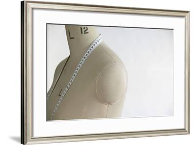 Mannequin Indoors, Close Up, Side View-moodboard-Framed Photographic Print