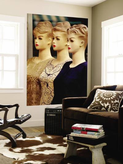 Mannequins in Textile Suq-Phil Weymouth-Wall Mural