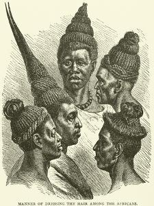 Manner of Dressing the Hair Among the Africans
