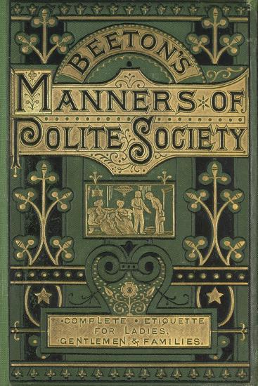 Manners--Giclee Print