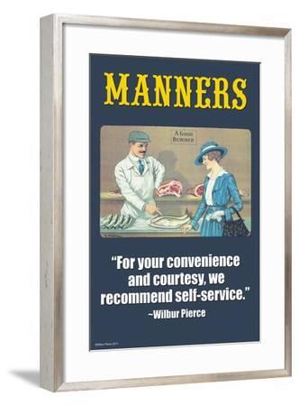 Manners-Wilbur Pierce-Framed Art Print