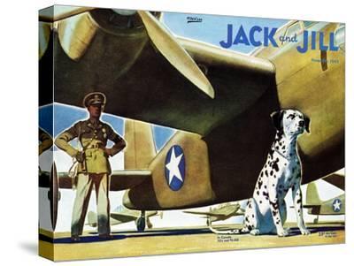 Military Dog - Jack and Jill, November 1942
