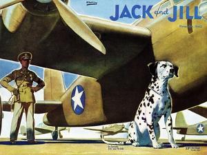 Military Dog - Jack and Jill, November 1942 by Manning de V^ Lee