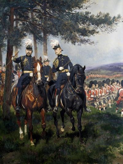 Manoeuvres at Aldershot-Jean Baptiste Edouard Detaille-Giclee Print