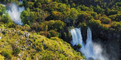 Manojlovac Waterfall, Krka National Park, Dalmatia, Croatia-Russ Bishop-Photographic Print