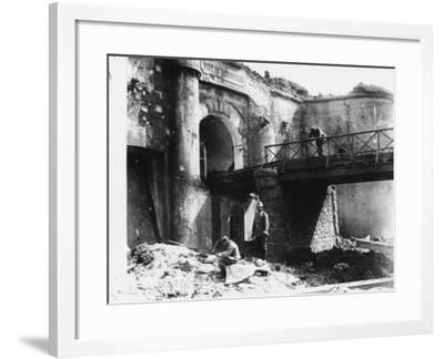 Manonviller Fort WWI-Robert Hunt-Framed Photographic Print