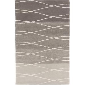 Manor Area Rug - Gray/Ivory 5' x 8'