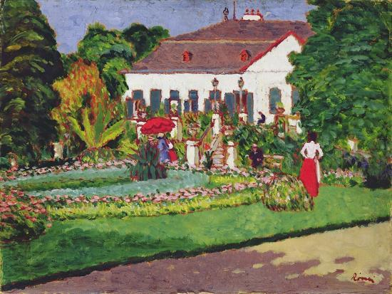 Manor House in Kertvelyes, 1907-Jozsef Rippl-Ronai-Giclee Print