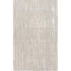 Manor Woods Area Rug - Gray/Ivory 5' x 8'