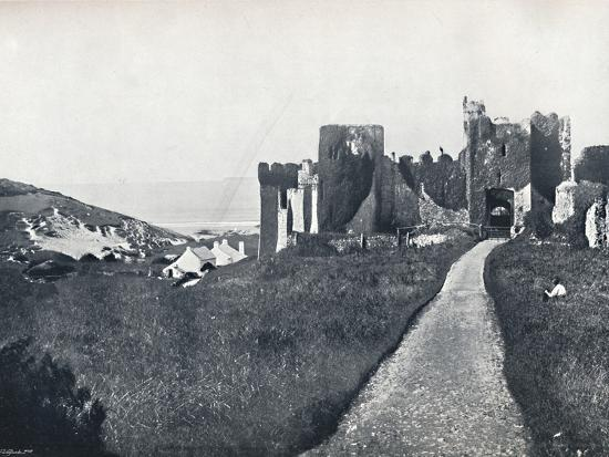 'Manorbier - The Castle', 1895-Unknown-Photographic Print