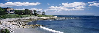 Mansion at a Coastline, Newport, Newport County, Rhode Island, USA--Photographic Print