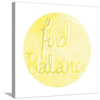 Mantra - Balance-Sasha Blake-Stretched Canvas Print