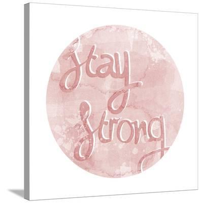 Mantra - Strong-Sasha Blake-Stretched Canvas Print